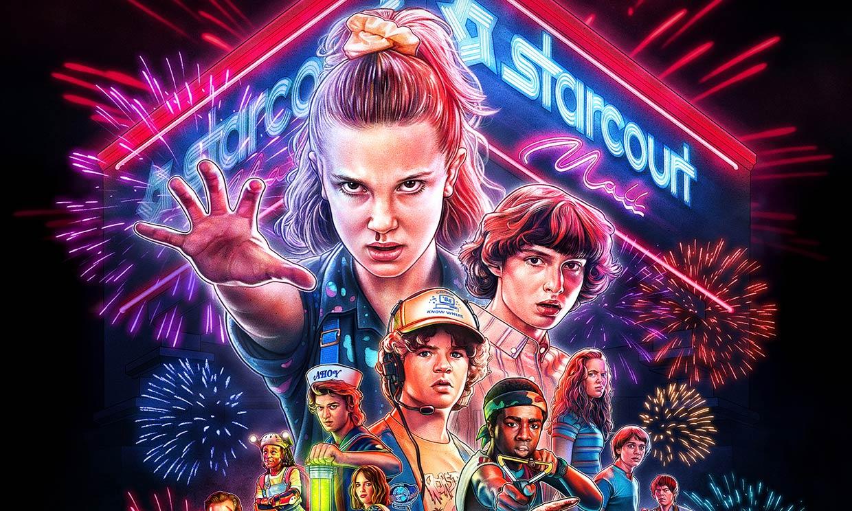 'Stranger Things' estrena nuevo póster con su estilo más característico