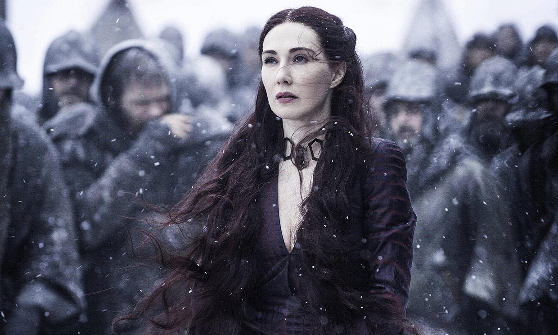 Carice Van Houten, Melisandre en 'Juego de Tronos', desvela cómo se hizo su increíble transformación