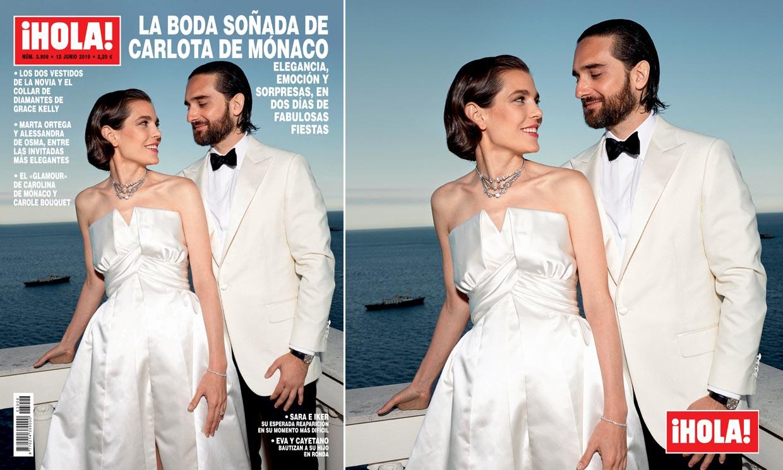 En ¡HOLA!: Nuevas imágenes de la boda soñada de Carlota de Mónaco