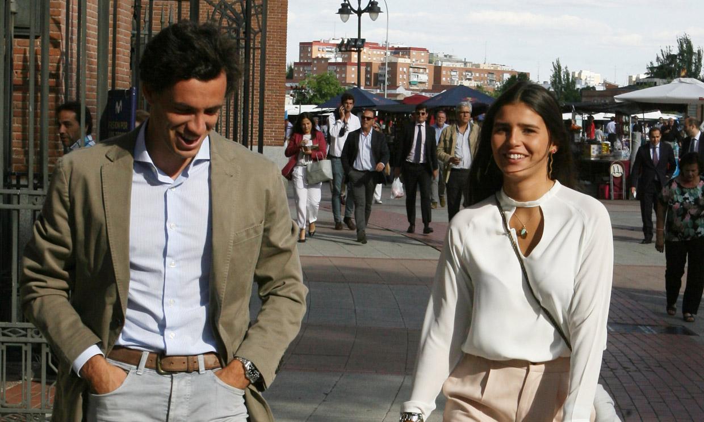 La sonrisa de Cayetana Rivera en su nueva cita con Quique González de Castejón