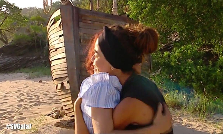 Fabio, Violeta y la calma familiar tras la gran tempestad en 'Supervivientes'
