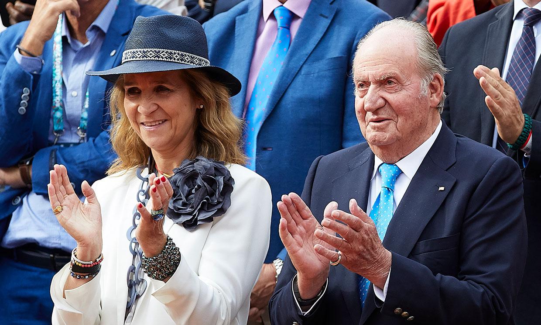 De 'Rey' a Rey: Rafa Nadal le da las gracias a don Juan Carlos