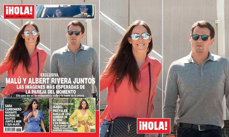 Exclusiva en ¡HOLA!, Malú y Albert Rivera juntos