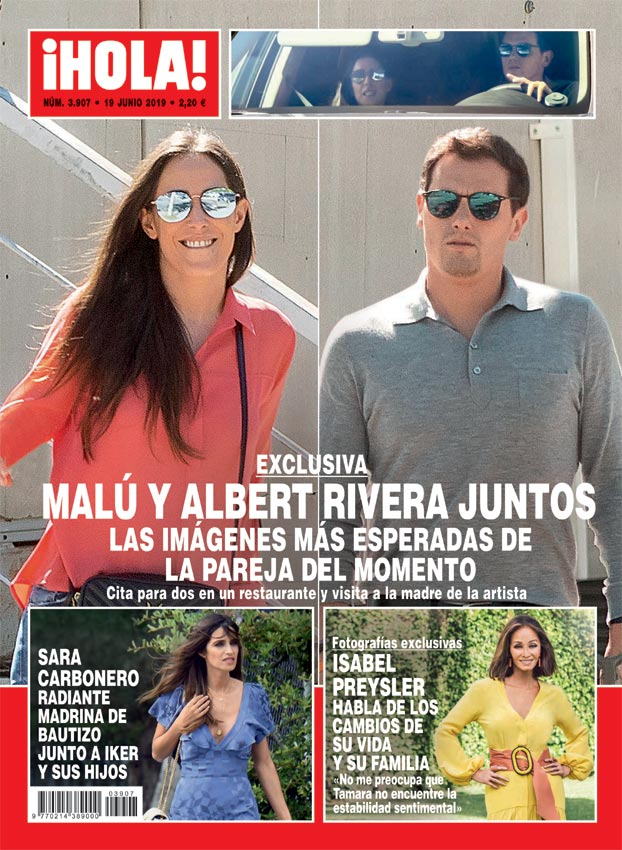 Malú y Albert Rivera