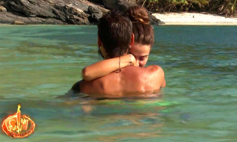 Pasión bajo el agua: Violeta y Fabio vuelven a dar rienda suelta a su amor