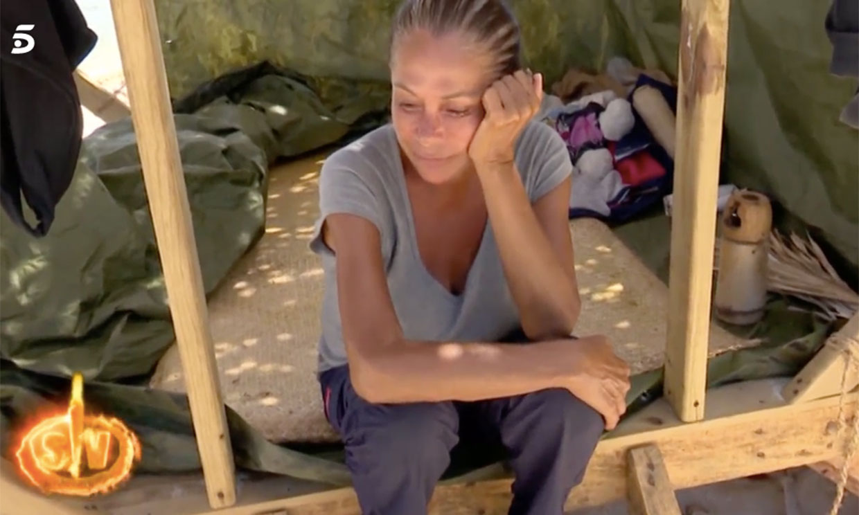 Isabel Pantoja deja de comer y preocupa a sus compañeros de 'Supervivientes'