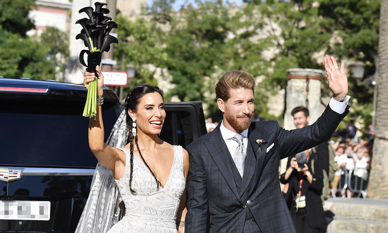 Pilar Rubio y Sergio Ramos: las claves de una boda atípica