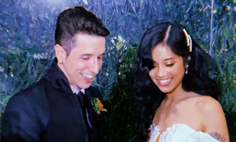 La boda de Hugo Rosales, exconcursante de 'Fama, ¡a bailar!', con Joy Lipata