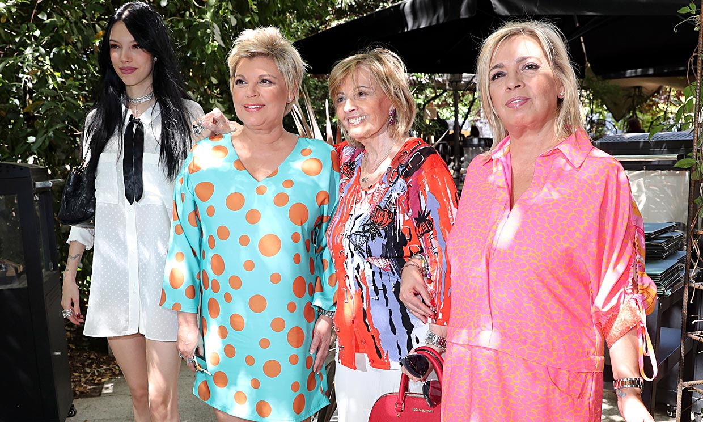 María Teresa Campos celebra su cumpleaños con una fiesta sorpresa organizada por sus hijas
