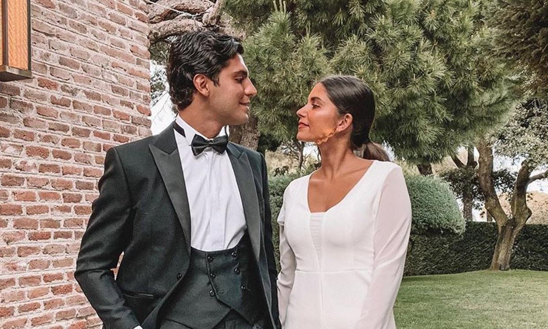 Amigos de Victoria Federica y testigos en la boda de María Pombo, ¿quiénes son María García de Jaime y Tomás Páramo?