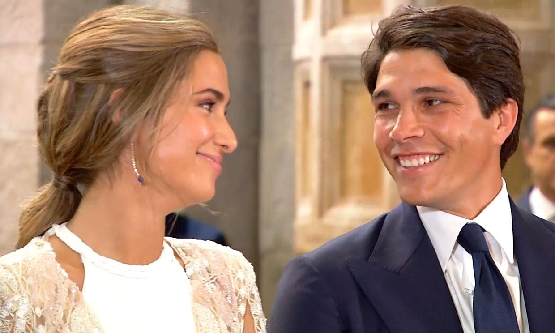 La promesa de amor eterno de María Pombo y Pablo Castellano
