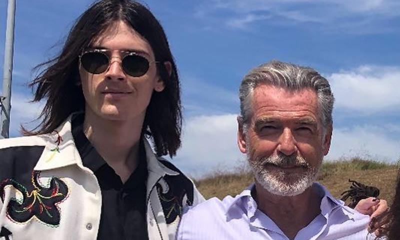 ¡Todo un padrazo! Pierce Brosnan y el orgulloso mensaje a su hijo Dylan