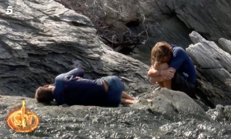 Nicolás Vallejo-Nágera y Albert, al borde de la hipotermia en 'Supervivientes'