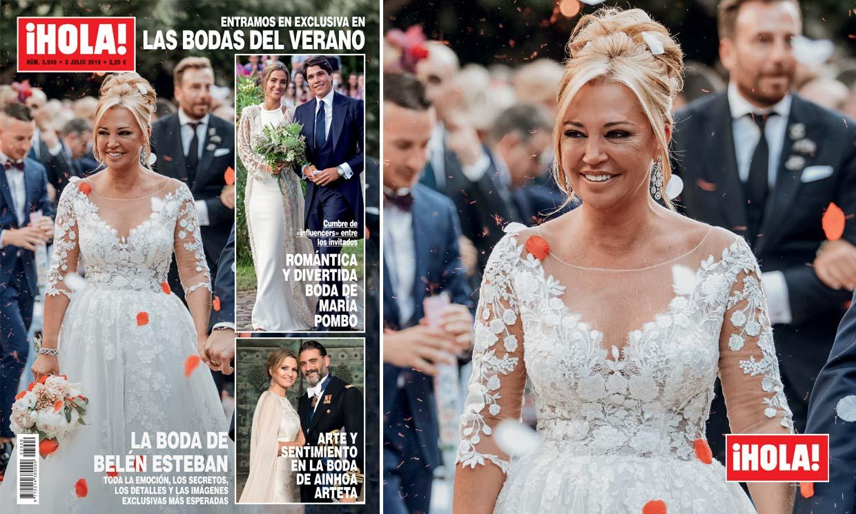 Exclusiva en ¡HOLA!, la boda de Belén Esteban