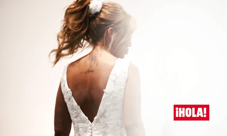 Exclusiva ¡HOLA!: Las primeras imágenes de Belén Esteban vestida de novia el día de su boda