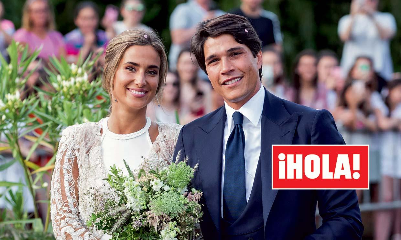 Exclusiva en ¡HOLA!, la romántica y divertida boda de María Pombo