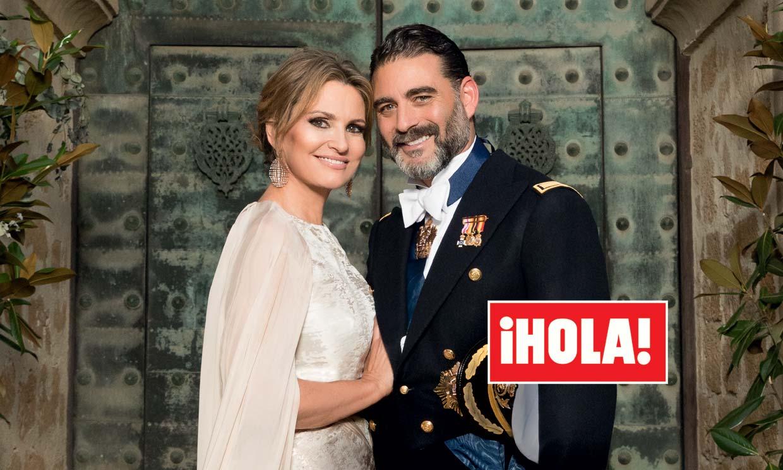 En ¡HOLA!, el beso de Ainhoa Arteta y Matías Urrea y otros momentos inolvidables de su boda
