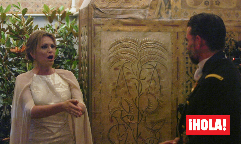 EXCLUSIVA en ¡HOLA!, la romántica canción que Ainhoa Arteta cantó el día de su boda