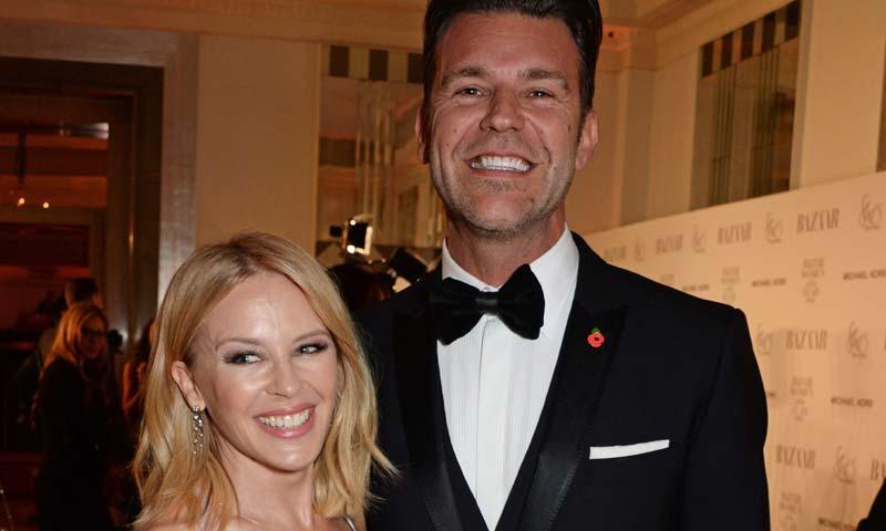 La romántica declaración de Kylie Minogue a Paul Solomons: 'He encontrado el amor verdadero'