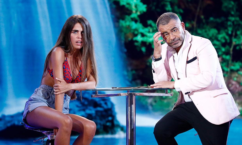 Violeta reaparece en plató y recibe un 'complicado' consejo de Jorge Javier