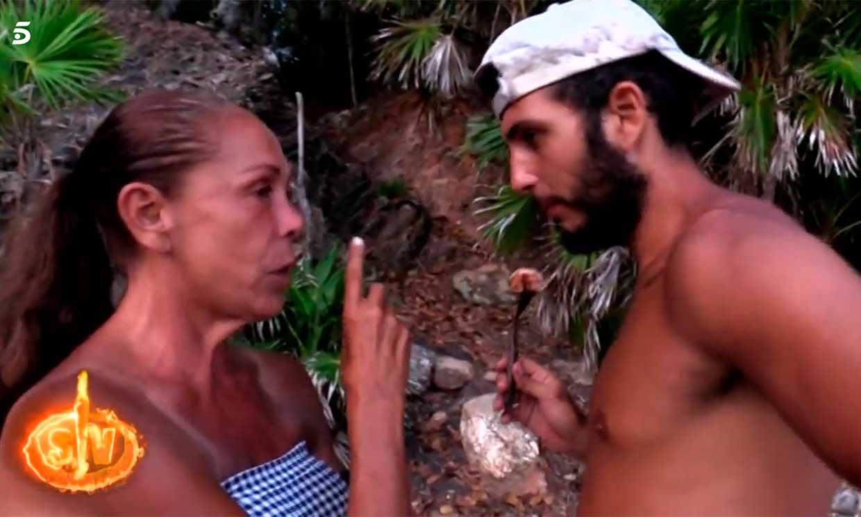 La advertencia de Isabel Pantoja a Omar Montes: 'Ya te cogerá mi hijo'