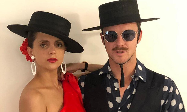 Las divertidas imágenes de Macarena Gómez y Aldo Comas en la fiesta postboda de Carlota Casiraghi y Dimitri Rassam