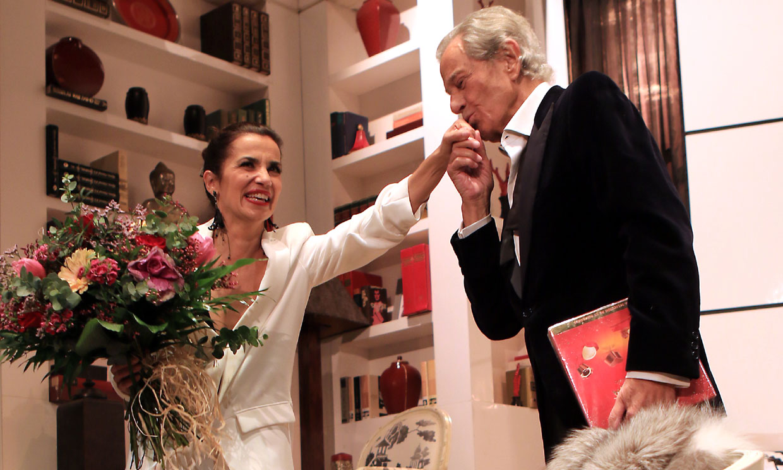 El último cumpleaños de Arturo Fernández: actuando sobre un escenario