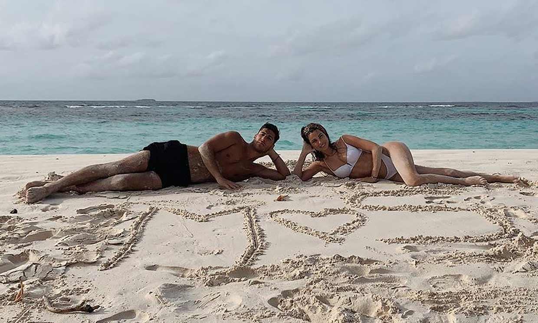 ¡Vacaciones en el paraíso! La idílica escapada de Marco Asensio y su novia Sandra Garal