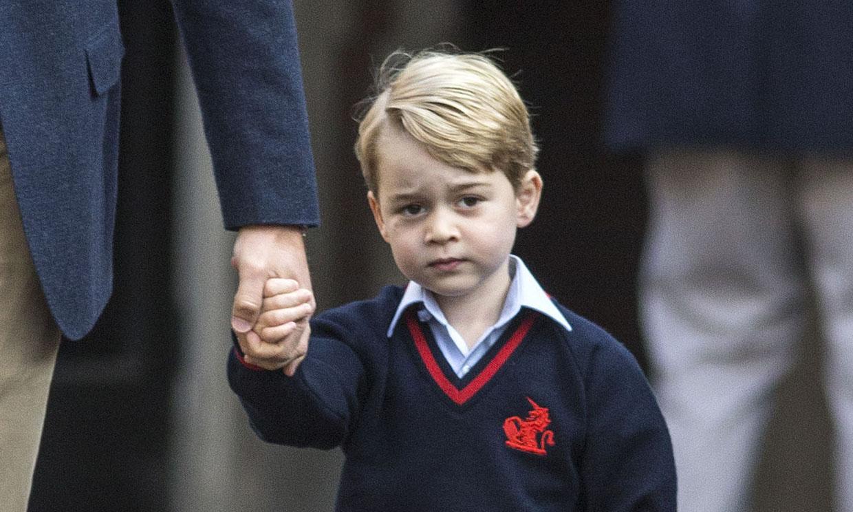 George de Cambridge ha jugado al tenis con su ídolo, ¡Roger Federer!