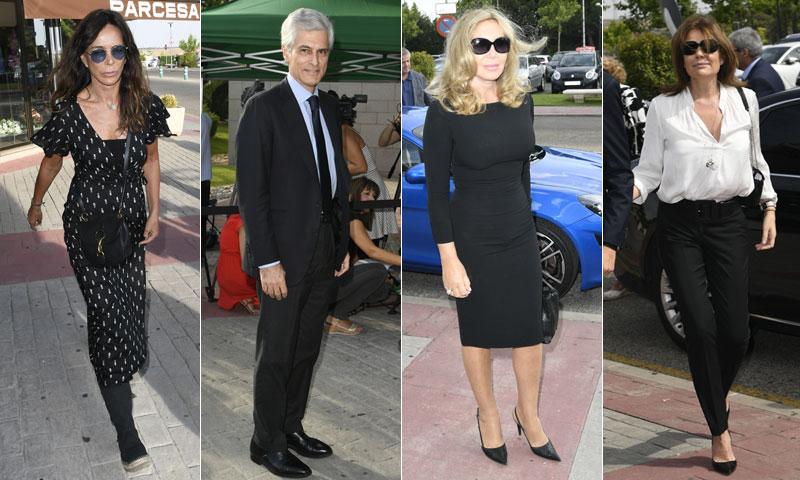 Familiares y amigos despiden a Arturo Fernández en Madrid