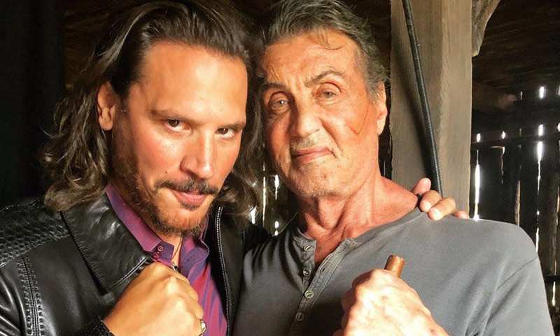 Sergio Peris-Mencheta, el nuevo 'rival' de Sylvester Stallone en la gran pantalla