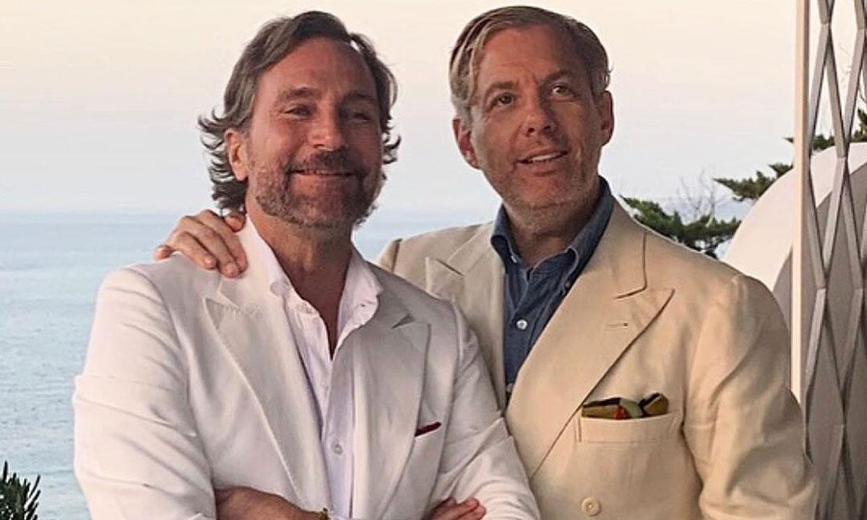 James Costos y Michael Smith celebran el 4 de julio a lo grande: a bordo de un yate lleno de famosos en Mallorca
