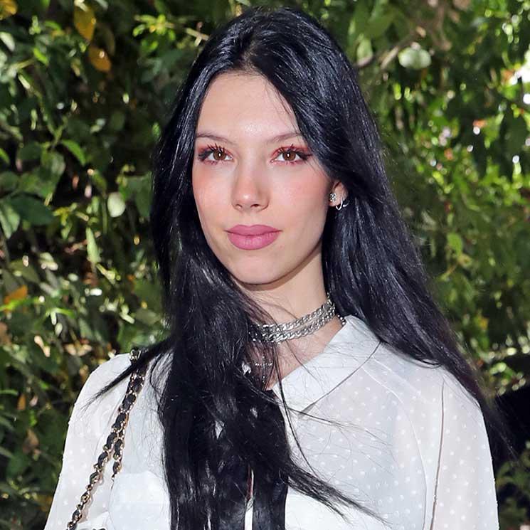 Alejandra Rubio, estrella del 'front row' del diseñador del vestido de sus sueños