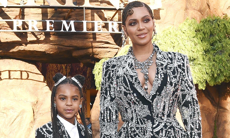 La aparición estelar de Beyoncé y su hija con 'looks' a juego