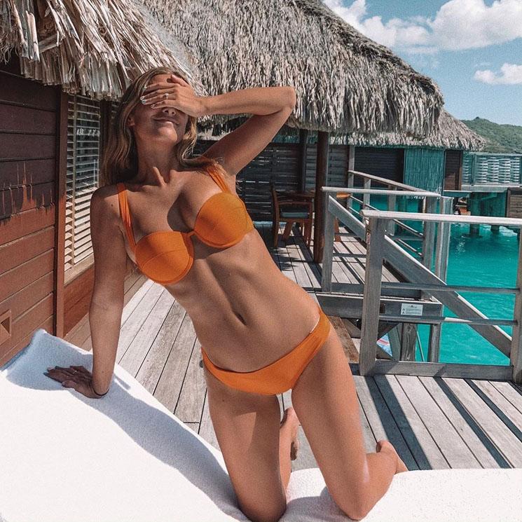 De la Isla de Pascua a Bora Bora, la luna de miel de ensueño de María Pombo
