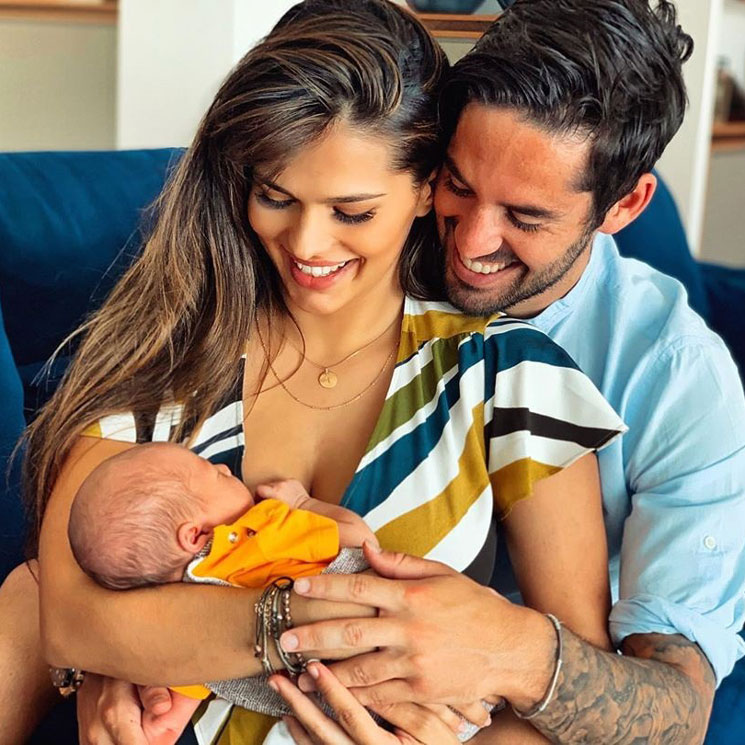Image result for sara salamo e isco y su bebé