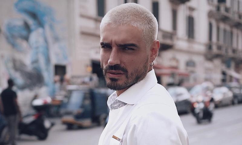 Moda, deporte y televisión: la curiosa vida de Fabio Colloricchio