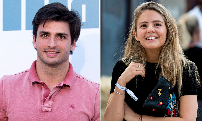 El discreto y feliz noviazgo de Carlos Sáinz Jr. con Isabel Hernáez: 'Estamos muy bien'