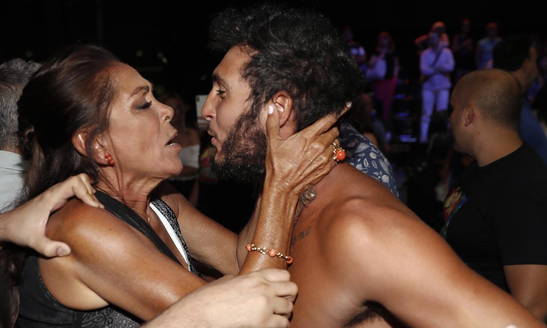 Omar Montes conquistó a la audiencia y a Isabel Pantoja