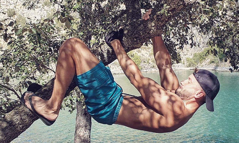 Pablo Alborán luce músculos durante sus vacaciones de verano