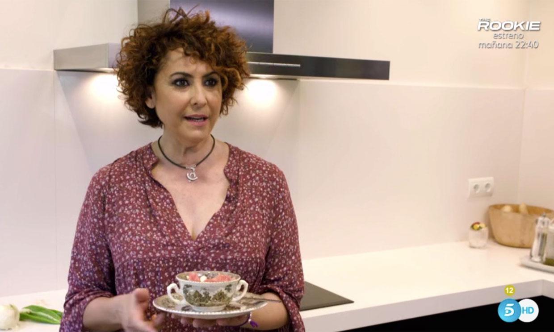 Irma Soriano abre las puertas de su casa en 'Ven a Cenar Conmigo, Gourmet Edition'
