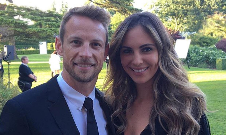 Jenson Button, expiloto de Fórmula 1, ha sido padre de su primer hijo