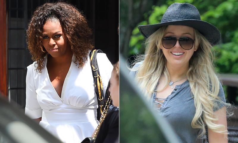Michelle Obama, Tiffany Trump y otras 'celebrities' eligen Mallorca para sus vacaciones
