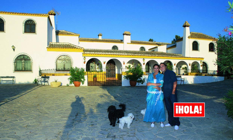 Isabel Pantoja celebra su cumpleaños en Cantora, su refugio