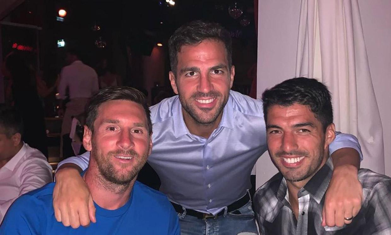 Leo Messi: sus divertidas vacaciones en Ibiza con Fàbregas y Suárez