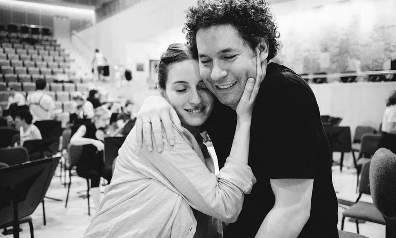 María Valverde, Gustavo Dudamel y su emocionante debut como pareja artística