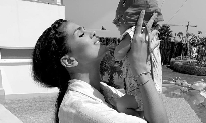 'Tú eres mi mejor experiencia': Sara Sálamo celebra el primer 'cumplemes' de su hijo Theo