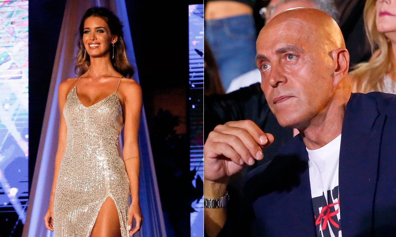 Kiko Matamoros, aún convaleciente, apoya a su pareja Marta López en la gala Miss Mundo España