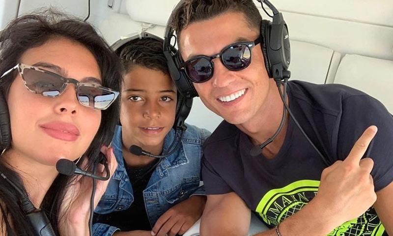 La reacción del hijo de Cristiano Ronaldo al conocer el humilde lugar en el que se crió su padre