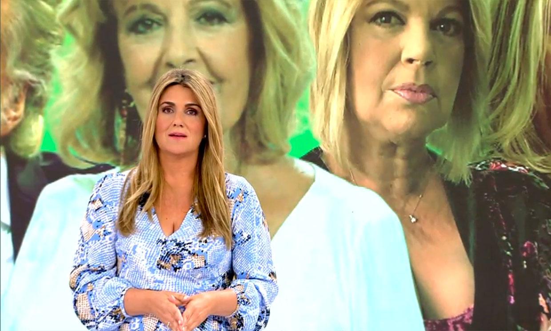 Carlota Corredera responde tajante a Terelu Campos